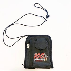 Vintage Mickey Mouse 100 year crossbody black bag